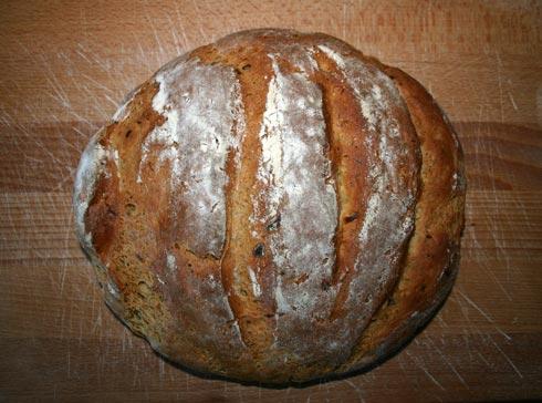 Kefir-Dill-Brot