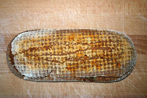 Parma-Parmesan-Brot mit knuspriger Parmesan-Kruste