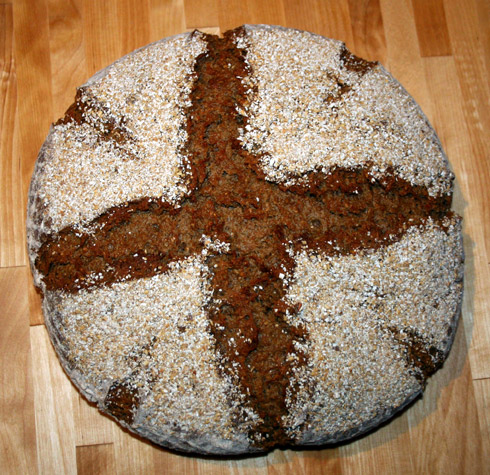 Quark-Hafer-Brot