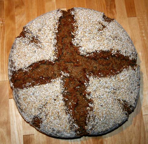 Quark-Hafer-Brot