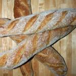 Baguette mit Sauerteig (2.Versuch)