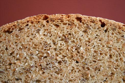 Ein aromatisches Brot mit schöner Krume.