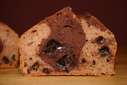Biskuitschokokuchen
