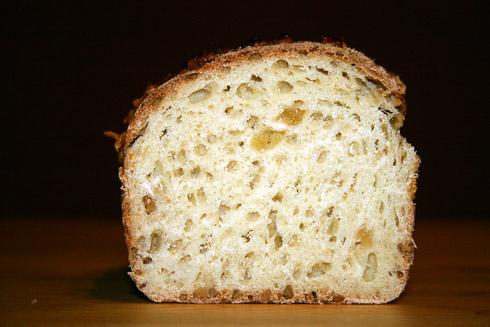 Sieht lecker aus, ist es aber nicht unbedingt... Honig-Ingwer-Brot als Backmischung von Aurora.