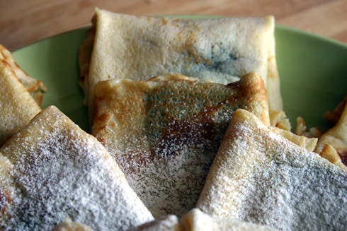Crêpes aus Pâte à Crêpes nach Julia Child
