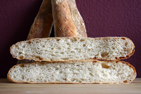 French Bread nach Jeffrey Hamelman