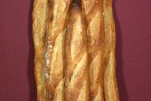 Baguette au Levain mit Poolish (4. Versuch)