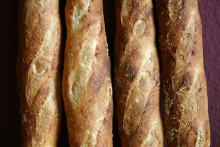 Baguette au Levain mit Poolish (8. Versuch)