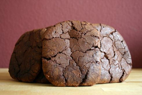 Rissig und intensiv schokoladig: Chocolate Indulgence Cookies nach Michel Suas
