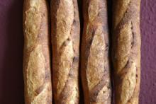 Baguette au Levain mit Poolish (9. Versuch)