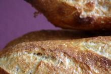 Baguette au Levain mit Poolish (10. Versuch)