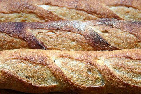 Baguette au Levain mit Poolish (11. Versuch)