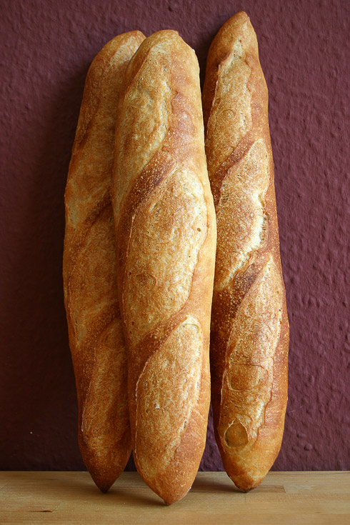 Baguette mit Poolish nach Ciril Hitz