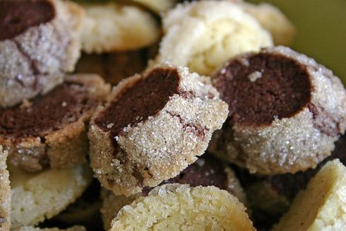 Kekse mit einem Rand aus süßen Diamanten: Diamonds nach Michel Suas