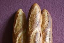 Baguette au Levain mit Poolish (18. Versuch)