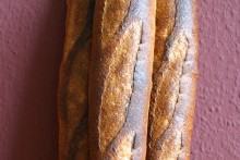 Baguette au Levain mit Poolish (20. Versuch)
