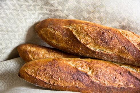 Baguette au Levain mit Poolish (25. Versuch)
