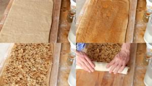 So wird's gemacht: Bildanleitung für das süße Nudelbrot