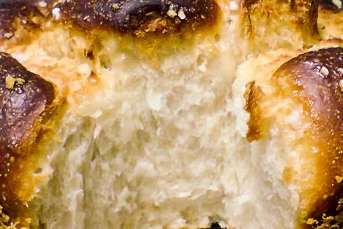 Locker-fluffige Krume mit dezenter Süße