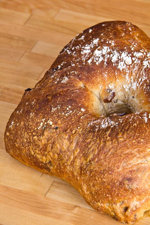Golden Raisin Bread nach Jeffrey Hamelman