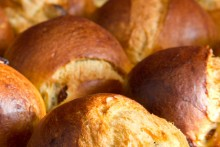 Brioche-Rosinen-Muffins