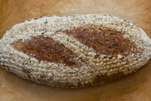 Weizenbrot mit 50% Weizenvollkornmehl nach Jeffrey Hamelman