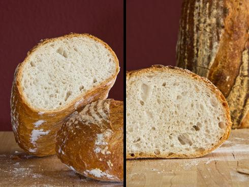 Mittelporige Krume, vielfältiges Aroma, verpackt in einer knusprigen Kruste: Gunnison River Bread