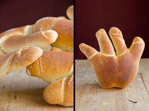 Hand mit vier Fingern: La main de Nice nach Mouette Barboff