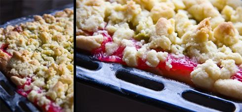 Johannisbeer-Rhabarber-Kuchen