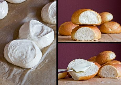 """""""Doppelte"""" - Weizenbrötchen fast wie mein Ideal vom guten Bäcker"""