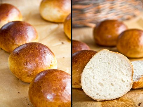 Glänzend, wattig-weich, herrlich duftend: DDR-Milchbrötchen nach Bäcker Süpke