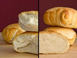 Feinporig und locker: das Pane di Pasta Dura passt besonders gut zu süßen Aufstrichen