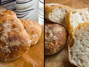 Ein gutes Brot, aber kein Ciabatta wie ich es mir vorstelle: Ciabatta nach Peter Reinhart