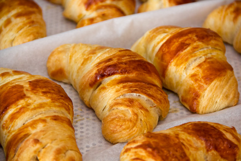 Croissants mit Poolish nach Michel Suas