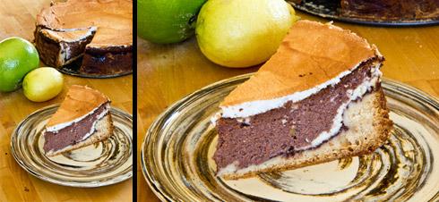 Erfrischend und lecker: Schoko-Quarktorte (Schoko-Käsekuchen)
