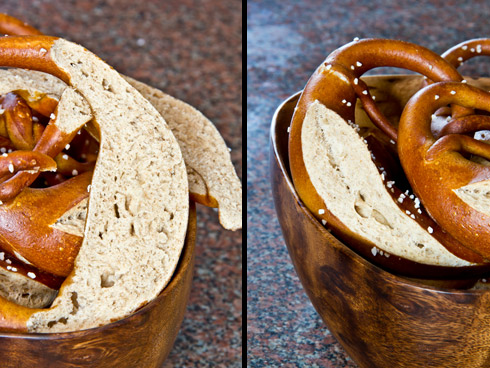 Kleinporig, knusprig und mit Butter unschlagbar: Laugenbrezeln mit Vollkornanteil