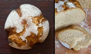 Der erste Versuch: nur so lernt man, was Untergare bewirken kann - explodierte Brote...