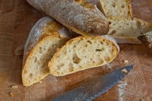 Mittelporig, locker, aber geschmacklich weit entfernt von guten Baguettes: French Bread nach Jeffrey Hamelman