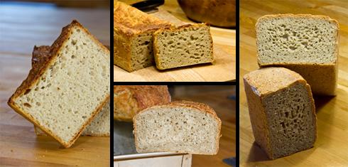 Ein Potpourri aus den gesammelten Fehlversuchen: Versuch 1 (links), 2 (Mitte oben), 4 (Mitte unten) und 5 (rechts). Versuch 3 konnte ich nicht fotografisch festhalten.
