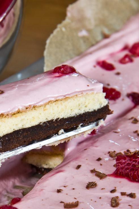 Schokoladig, locker und erfrischend: ein ganz spezieller Mutterkuchen...