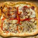 Pizza di grano duro