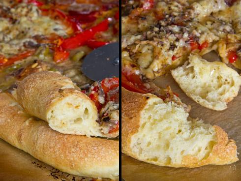 Locker, saftig und knusprig: Pizza di grano duro