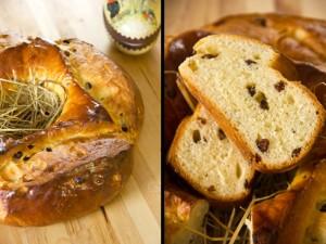 Fast ein Osterbrot: La Fouace Aveyronnaise
