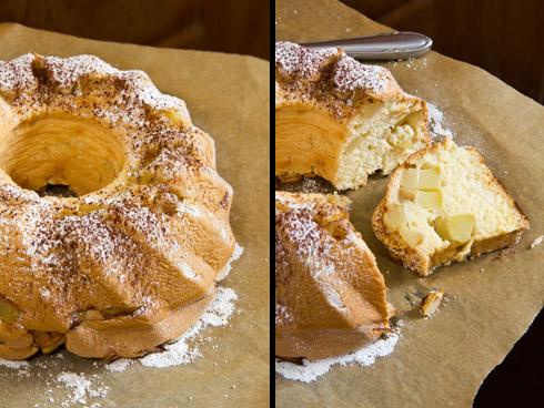 Extrem locker, fluffig und fruchtig: Apfel-Biskuit-Kuchen nach einem alten Schweizer Rezept