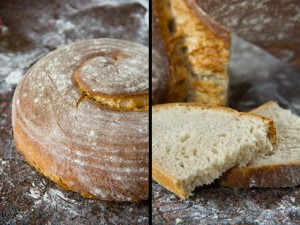 Mild säuerlich, kleinporig und aromatisch: die Hartweizenschnecke