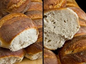 Lockere, weiche und mild-herbe Krume: Pivný chlieb (Slowenisches Bierbrot)