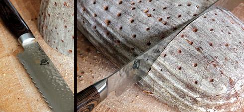 Geht durch wie Butter: das Brotmesser TDM-1705 von KAI