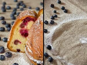 Saftig, fruchtig und unglaublich lecker: Heidelbeer-Biskuit