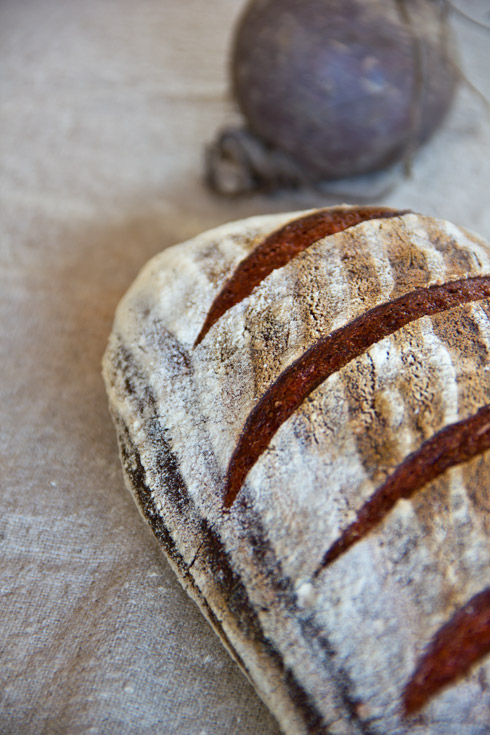 Rote Beete-Brot