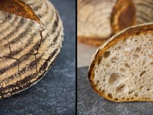 Überragend gut dank gut ausgebackener Kruste und saftig-aromatischer Kruste: Weizenmischbrot mit Dinkel